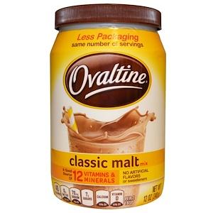 Овалтайн, Classic Malt Mix, Caffeine Free, 12 oz (340 g) отзывы покупателей