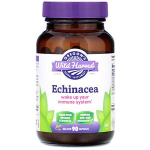 Орегонс Вайлд Харвест, Echinacea, 90 Gelatin Capsules отзывы покупателей