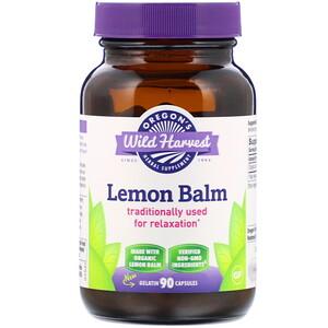 Орегонс Вайлд Харвест, Lemon Balm, 90 Gelatin Capsules отзывы покупателей