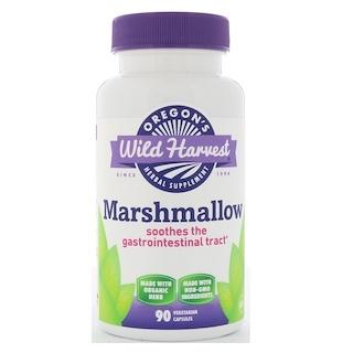 Oregon's Wild Harvest, Marshmallow, 90 Vegetarian Capsules