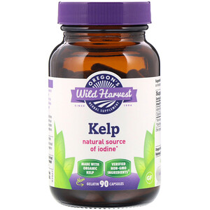 Орегонс Вайлд Харвест, Kelp, 90 Gelatin Capsules отзывы