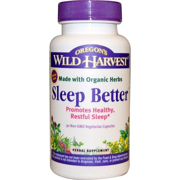 Sleep Better, 90 Non-GMO Vegetarian Capsules