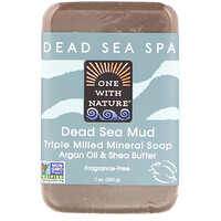 Triple Milled Mineral Soap Bar, Dead Sea Mud, Fragrance-Free, 7 oz (200 g) - фото