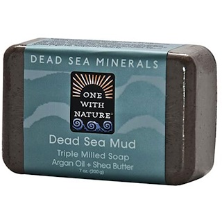 One with Nature, Dead Sea Mud Soap Bar, 7 oz (200 g)