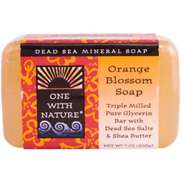 One with Nature, Orange Blossom Soap Bar, 7 oz (200 g) (Discontinued Item)