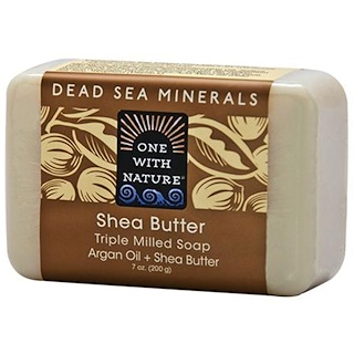 One with Nature, Triple Milled Soap Bar, Shea Butter, 7 oz (200 g)