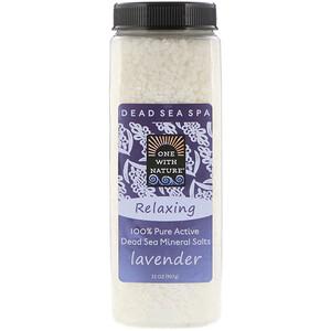 Ван виз Натуре, Dead Sea Mineral Salts, Relaxing, Lavender, 2 lbs (907 g) отзывы покупателей