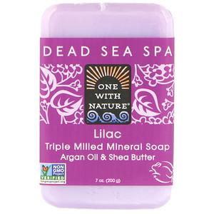 Ван виз Натуре, Triple Milled Soap Bar, Lilac, 7 oz (200 g) отзывы покупателей