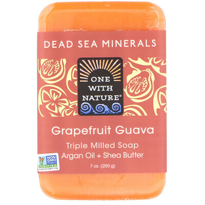 Тройное рифленое мыло, грейпфрут гуава, 200 г (7 унций) красная свекла растворимые кристаллы 200 г 7 унций