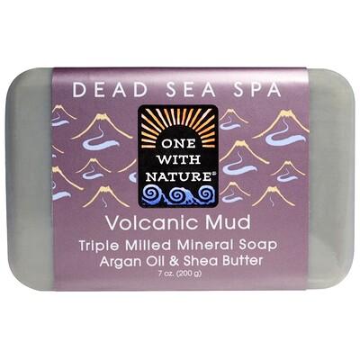 Купить Тройное пилированное минеральное мыло, вулканическая грязь, 7 унций (200 г)