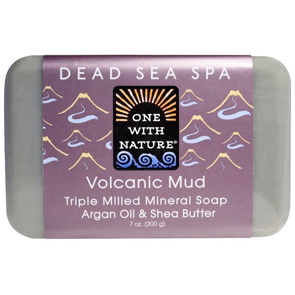 Triple Milled Mineral Soap, Volcanic Mud, 7 oz (200 g)