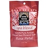 One with Nature, Sales minerales del mar muerto, mezcla del balneario, pétalo de Rosa, 2.5 oz (70 g)
