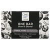 One with Nature, One Bar, Shave & Shower, Stimulating Sandalwood, 3.5 oz (100 g)
