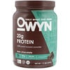 OWYN, Protein 100% Plant-Based Powder, Dark Chocolate, 1.2 lb (539 g)