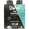 OWYN, Protein Plant-Based Shake, Cold Brew Coffee, 4 Shakes, 12 fl oz (355 ml) Each
