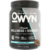 OWYN, Ultimate Wellness + Energy 100% Plant-Based Powder, Cold Brew Coffee, 1.2 lb (546 g)