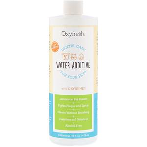 Oxyfresh, Pet Dental Water Additive, Fresh Breath For Your Pets, 16 fl oz (473 ml) отзывы