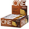 One Brands, One Bar, Bolo de Chocolate e Manteiga de Amendoim, 12 Barras, 60 g (2,12 oz) Cada