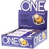 Отзывы о One Brands, One Bar, фруктовый пирог с голубикой, 12 батончиков, 60 г (2,12 унций) каждый