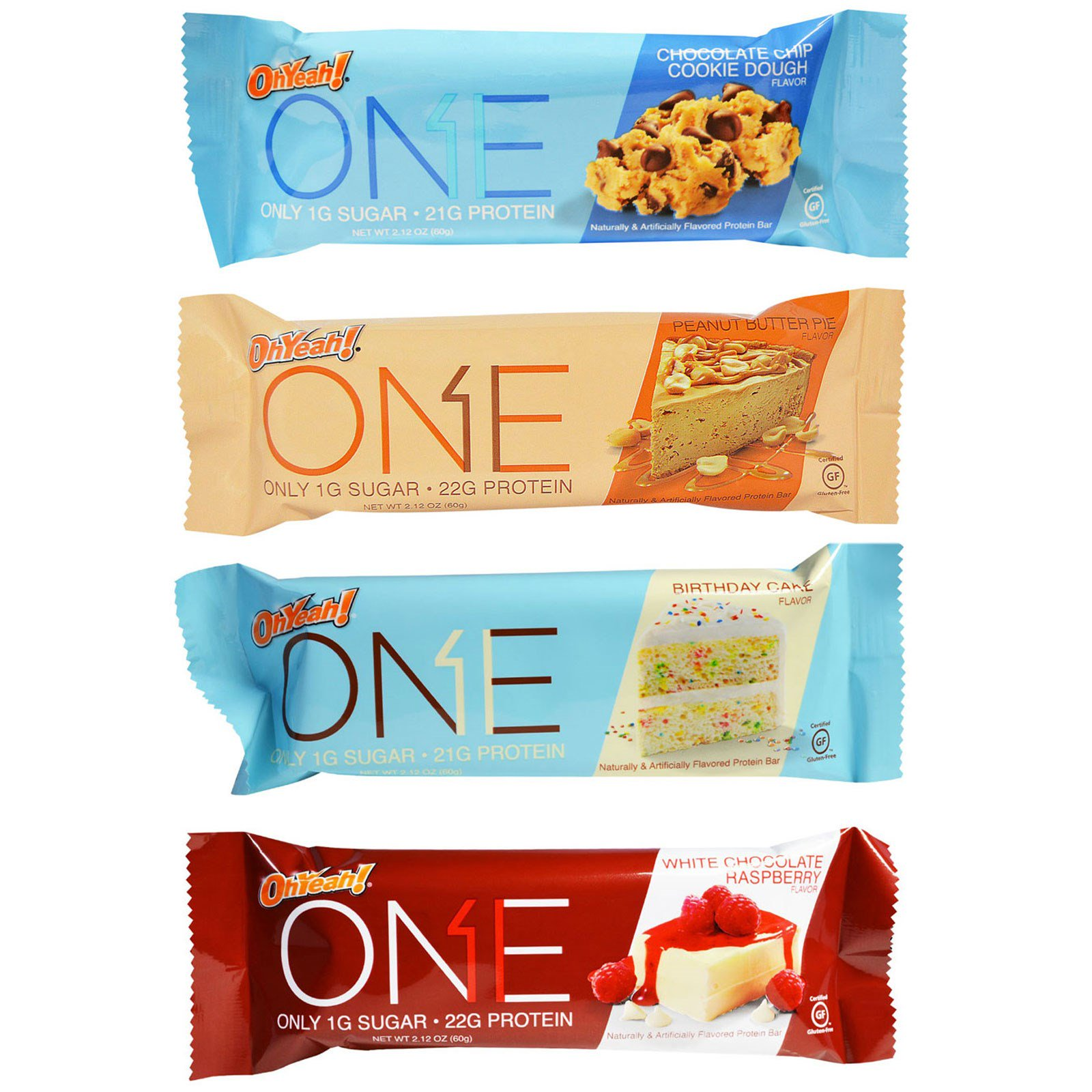 One Brands ONE Variety Pack Protein Bars 12 212 Oz 60 G