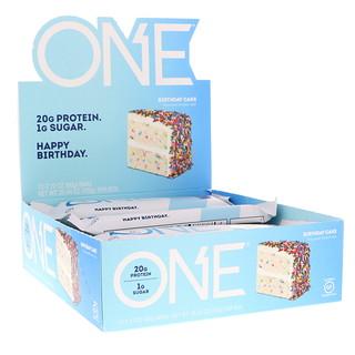 Oh Yeah!, One Bar, торт на день рождения, 12 батончиков, 2,12 нц. (60 г) каждый
