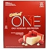 Oh Yeah!, One Bar, White Chocolate Raspberry, 12 Bars, 2.12 oz (60 g) Each (Discontinued Item)