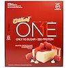One Brands, One Bar, White Chocolate Raspberry, 12 Bars, 2.12 oz (60 g) Each