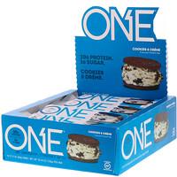 Батончик One, печенье с кремом, 12 батончиков, 2,12 унц. (60 г) каждый - фото
