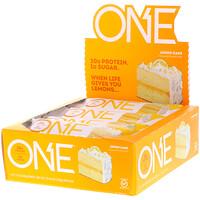 Один батончик, Лимонный пирог, 12 батончиков, 2,12 унц. (60 г) каждый - фото