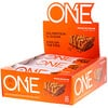 One Brands, Barra One, Sabor torta de manteiga de amendoim, 12 barras, 2.12 oz (60 g) cada