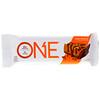 One Brands, Barra One, Sabor torta de manteiga de amendoim, 12 barras, 2.12 oz (60 g) cada