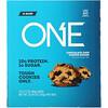 One Brands, Barra One, Massa de Cookies com Gotas de Chocolate, 12 Barras, 2,12 oz (60 g) Cada