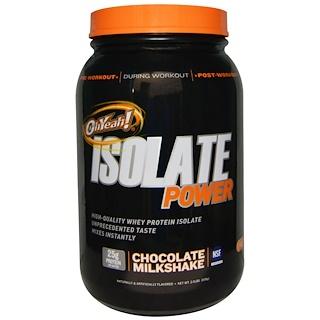 Oh Yeah!, OhYeah! Isolate Power Chocolate Milkshake, 2 lb