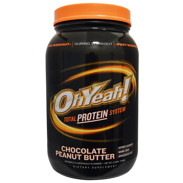 One Brands, Total Protein System, Chocolate Peanut Butter, 2.4 lbs (1090 g) (Discontinued Item)