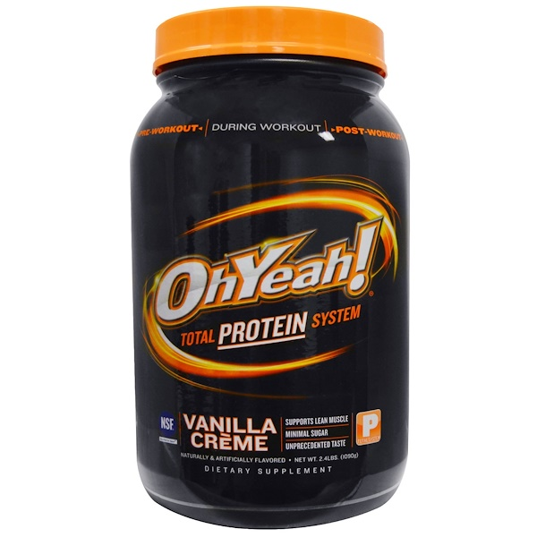 One Brands, Total Protein System, Vanilla Creme, 2.4 lbs (1090 g) (Discontinued Item)