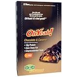 Отзывы о One Brands, Протеиновые батончики, Шоколад & карамель, 12 батончиков, 1,59 унции (45 г)