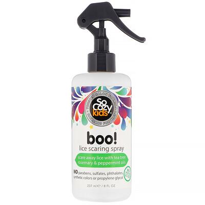 Купить SoCozy Kids, Boo!, спрей против вшей, 237мл (8 жидк.унций)
