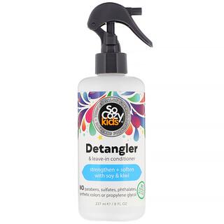 SoCozy, Kids, Après-shampooing démêlant sans rinçage, 237ml