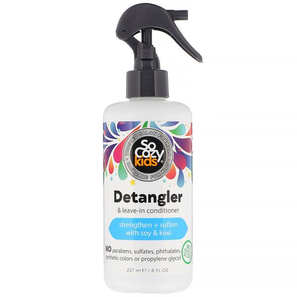 Kids, Detangler & Leave-In Conditioner, 8 fl oz (237 ml)