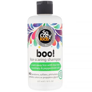 SoCozy, Kids, Boo! Läuseabwehrshampoo, 237ml