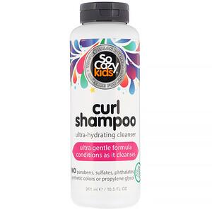 SoCozy, Kids, Curl Shampoo, Ultra-Hydrating Cleanser, 10.5 fl oz (311 ml) отзывы покупателей