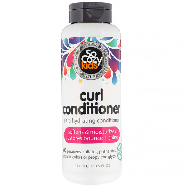 Kids, Curl Conditioner, Ultra-Hydrating Conditioner, 10.5 fl oz (311 ml)