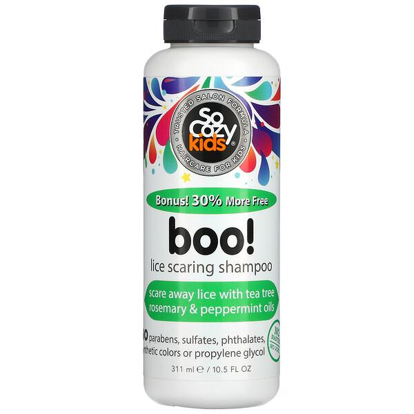 Kids, Boo! Lice Scaring Shampoo, 10.5 fl oz (311 ml)