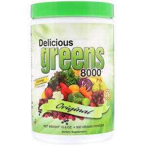 Гринс Ворлд, Delicious Greens 8000, Original, 10.6 oz (300 g) Powder отзывы покупателей