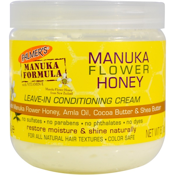 Palmer's, Manuka Flower Honey, Leave-In Conditioning Cream, 6.7 oz (190 g) (Discontinued Item)