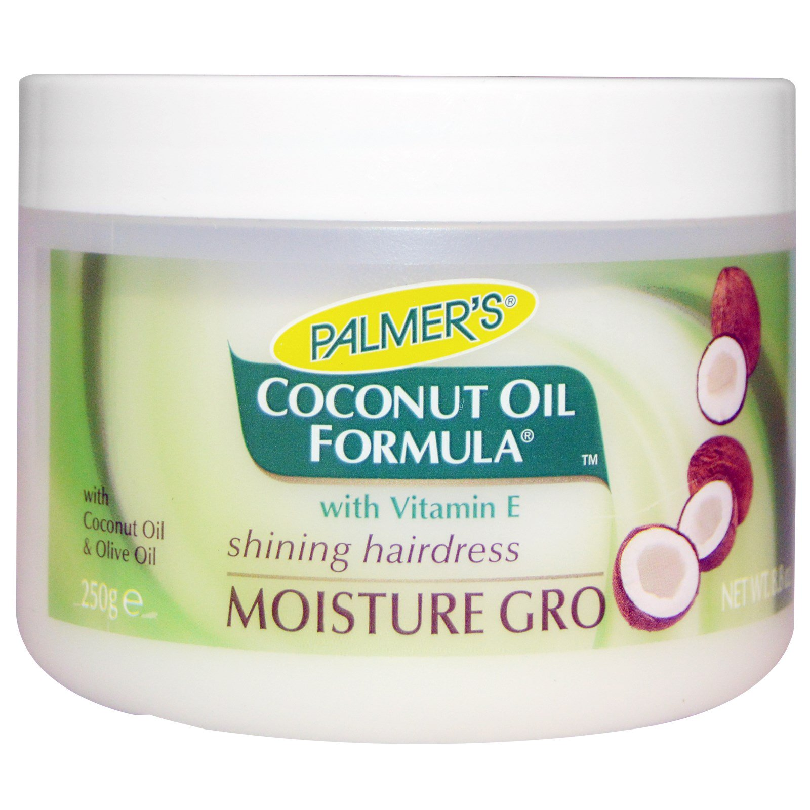Palmer's, Coconut Oil Formula, with Vitamin E, Moisture Gro Hairdress, 8.8 oz (250 g)