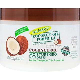 Palmer's, Coconut Oil Formula, With Vitamin E, Moisture Gro Hairdress, 8.8 oz (250 g)