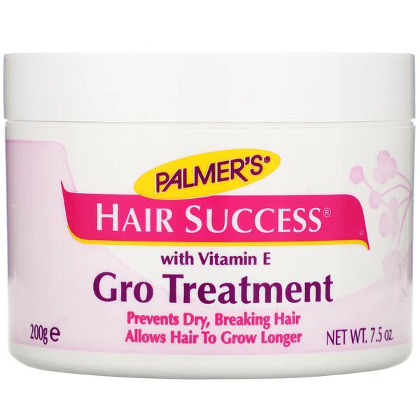 Sucesso dos cabelos, tratamento Gro com vitamina E, 7,5 oz. (200 g)