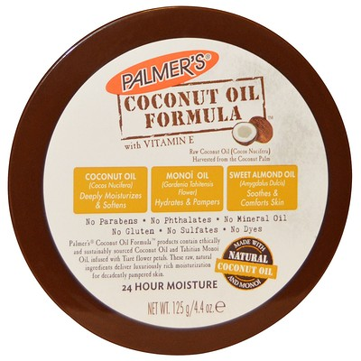 Palmer's Coconut Oil Formula, Body Cream, 4.4 oz (125 g)