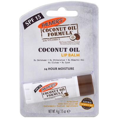 Palmer's 椰子油潤唇膏,SPF 15,4克(0.15盎司)
